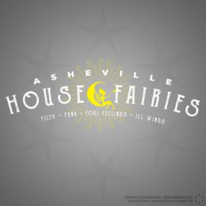Asheville House Fairies Logo Design