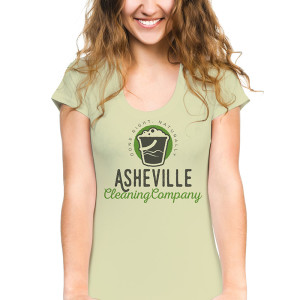 Tshirt Design for Asheville Cleaning Company - Front