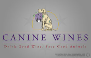 Canine Wines Logo Design