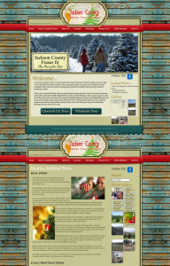 Jackson County Trees Website Design