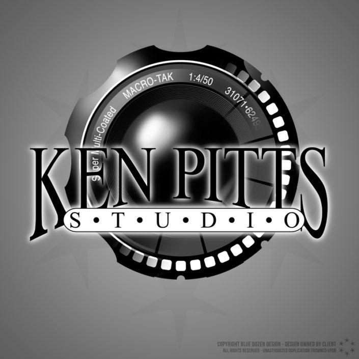 Ken Pitts Studio Logo Design