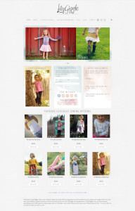 WordPress Web Design for LilyGiggle.com