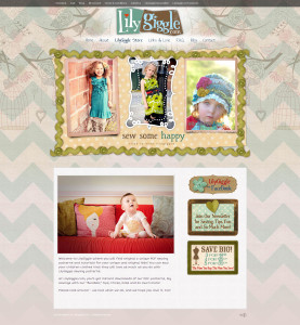 Asheville Web Design for LilyGiggle