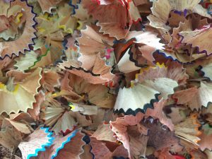 Pencil Shavings Background