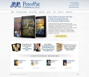Asheville Website Design for Peter Pat Publishers