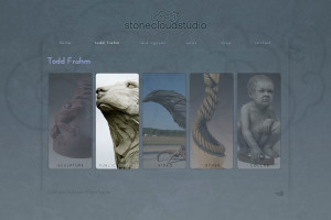 Asheville Website Design for Stone Cloud Studio