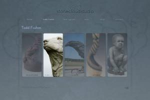 Asheville Website Design for Stone Cloud Studio