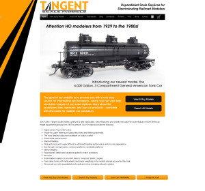 Web Design for Tangent Scale Models