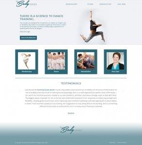 The Body Series Website Design & Development