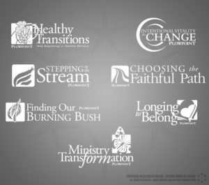 Various Logos for Plowpoint Ministries