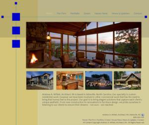 Web Design for A. Willett Architect