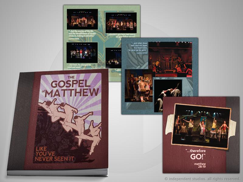 Godspell Picture Book Design