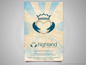 Highland Christian Ad Design