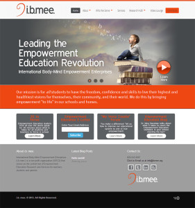 Asheville Web Design for I.B. Mee