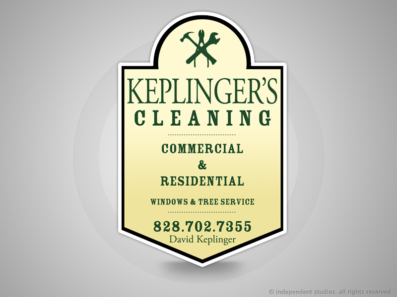 Keplinger's Cleaning Advertisement Desig