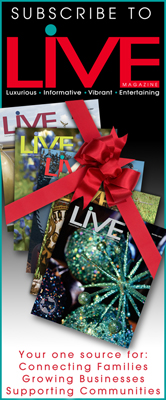 Live Magazine Ad Design