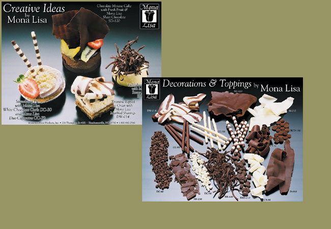 Mona Lisa Chocolates Sales Sheet Design