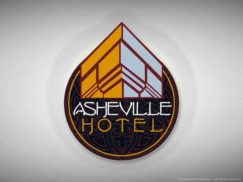 Asheville Hotel Logo Design