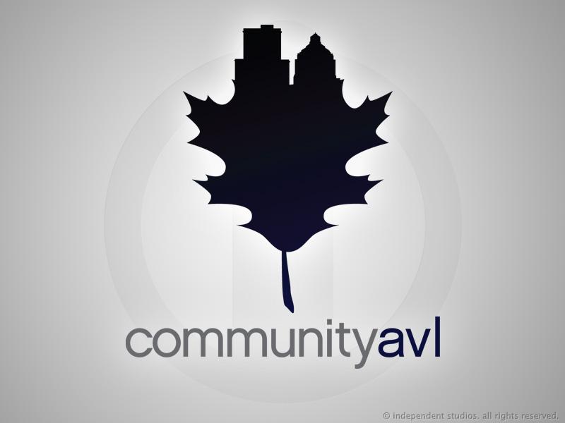 CommunityAVL Logo Design