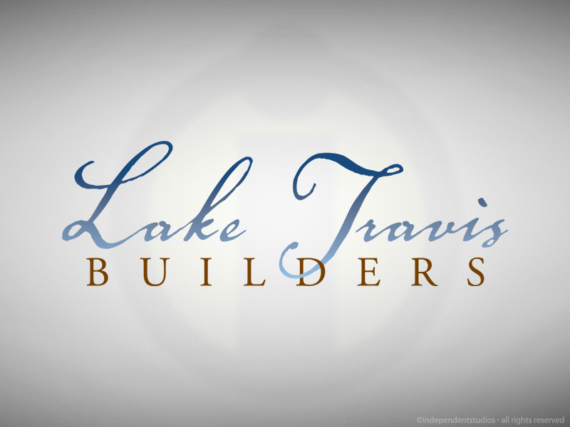 Lake Travis Builders Logo Design