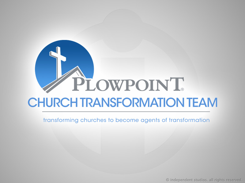 Logo Design for Plowpoint Church Transformation Team