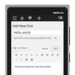 Responsive WordPress Dashboard
