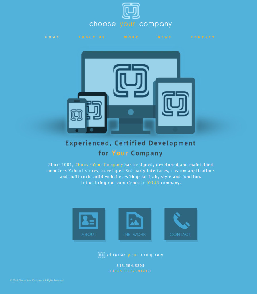 Choose Your Company Website Design
