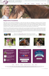 Web Design for Neigh Savers Foundation