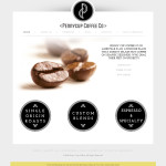Wordpress Site Design for Penny Cup Coffee Company