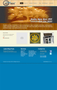 Web Design for Cheadle's in Asheville