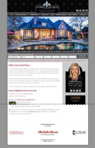 Web Design for Debbie Murray Real Estate