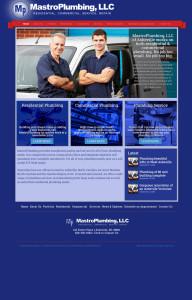 Web Design for Mastro Plumbing