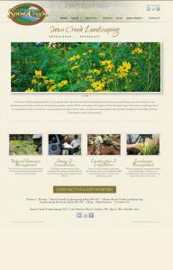 Web Design for Snow Creek Landscaping