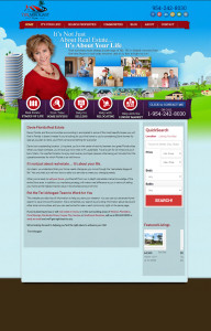Web Design for Teri Arbogast Real Estate