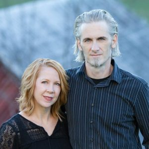 JAMES and BETH, Owners of Blue Dozen Design, Asheville NC