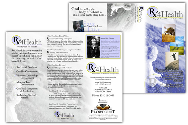RX for Health Brochure Design