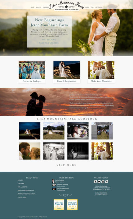 Web Design for Jeter Mountain