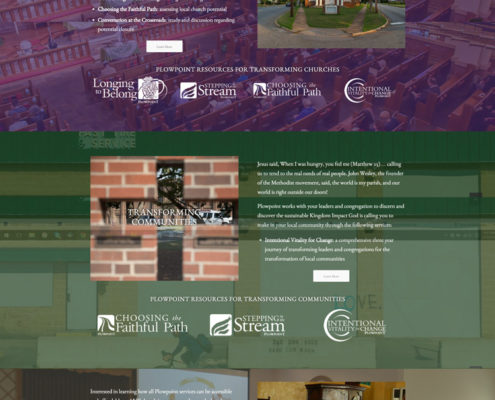 Web Design for Plow Point