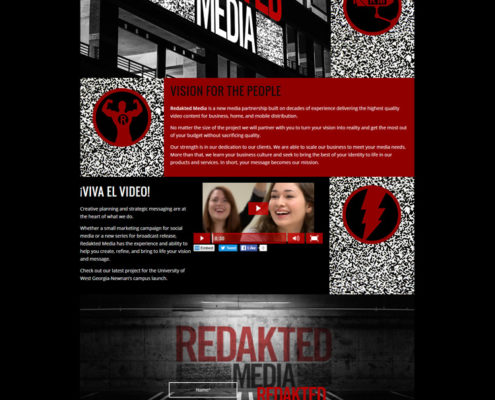 Web Design for Redakted