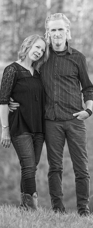 James and Beth - Blue Dozen Design