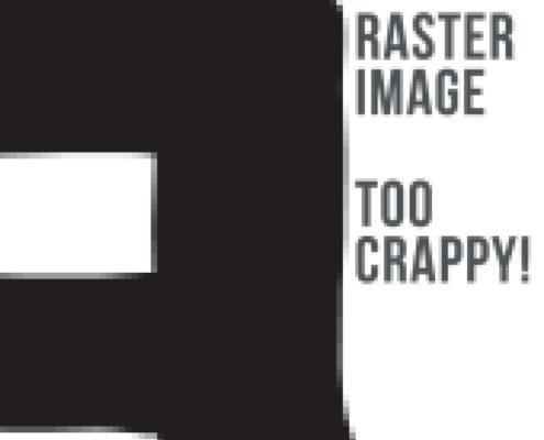 Raster Logo - Don't Do It!