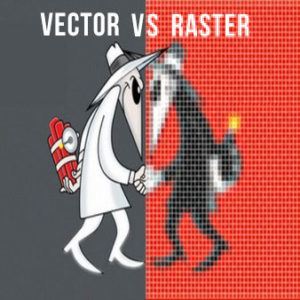 Vector Art vs Raster Art