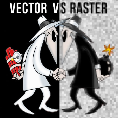 Vector vs Raster - Files for Logo Designs
