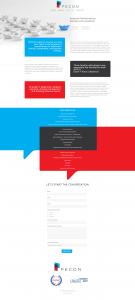 Website Design for PECON Consulting