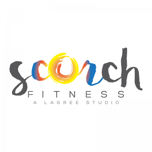 Logo Design for Asheville's Scorch Fitness