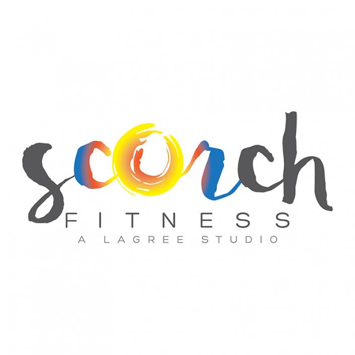 Logo Design for Asheville's Scorch Fitness