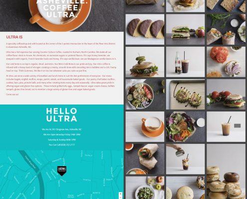 Ultra Coffeebar, Asheville NC