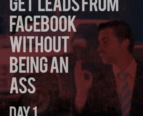 Getting Leads from Facebook - Day 1