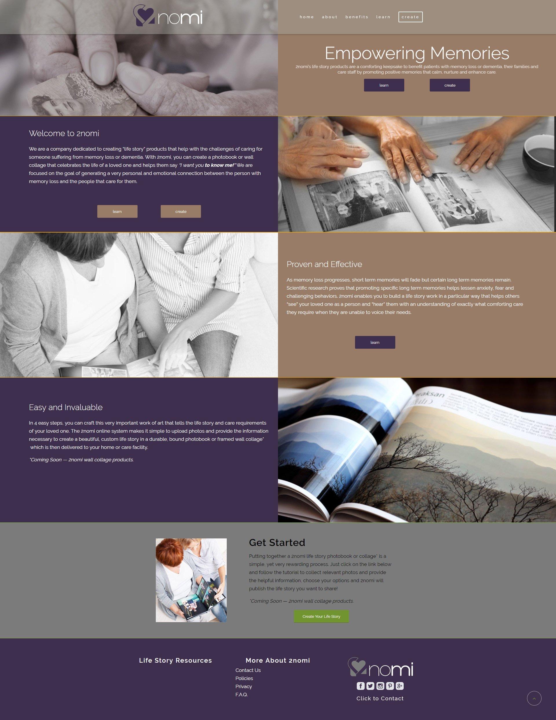 Website Design for 2NOMI