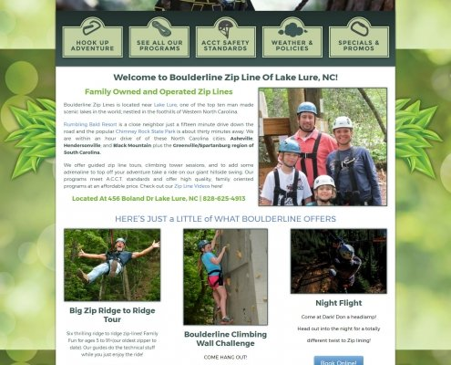 Boulderline Zip Tours - Asheville NC